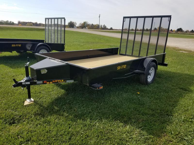 2017 Doolittle Trailer Mfg SS 77x12 Utility Trailer