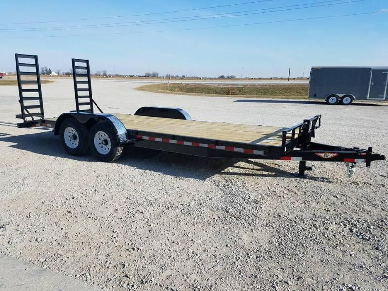 2018 H and H Trailer 82x20 Equipment Trailer
