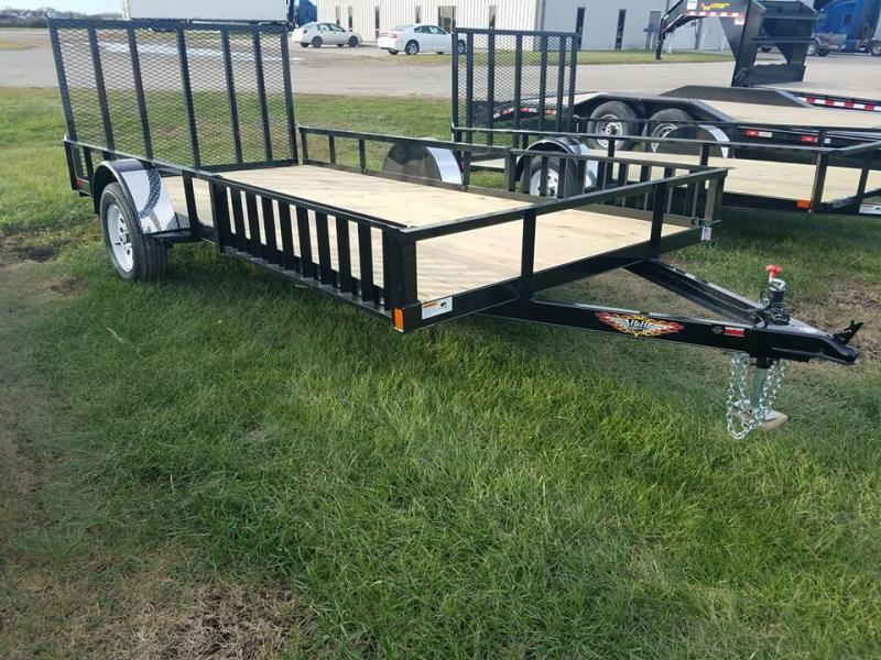2018 H and H Trailer 82x14 ATV / Utility Trailer