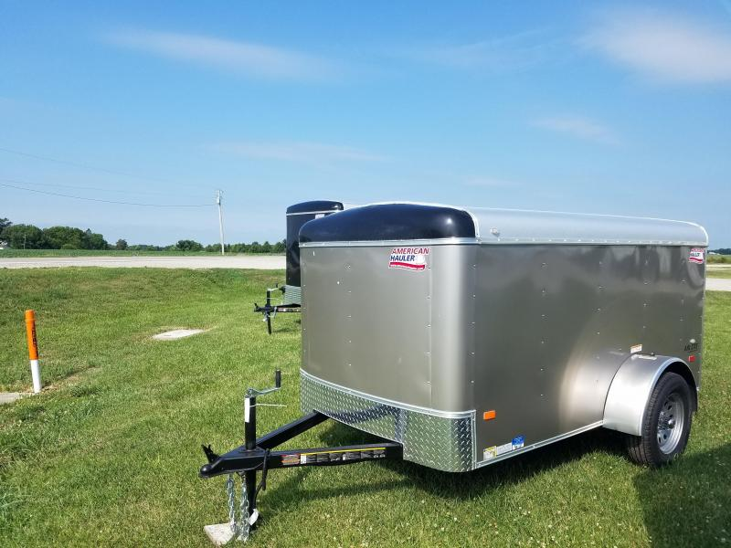 2018 American Hauler Industries 5x10 Air Lite Enclosed Cargo Trailer