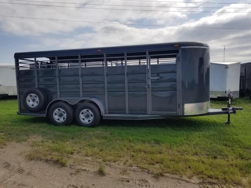 2020 Calico Trailers 20Ft Bumper Pull Livestock Trailer