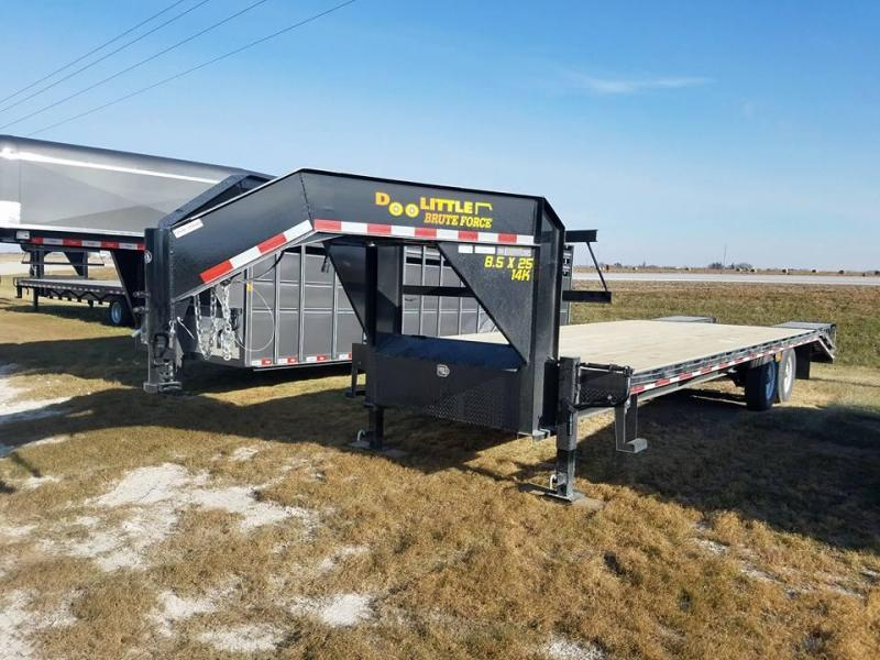 2018 Doolittle Trailer Mfg 102x25 BruteForce Equipment Trailer