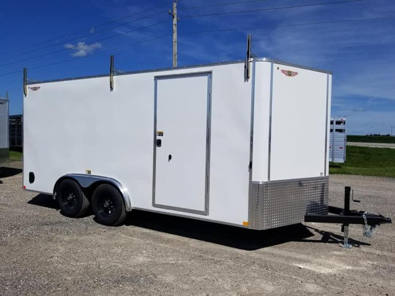 2020 H and H Trailer 8X16 10K Enclosed Cargo Trailer