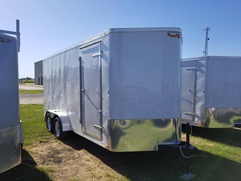 2018 Doolittle Trailer Mfg 7x16 Bullitt Enclosed Cargo Trailer