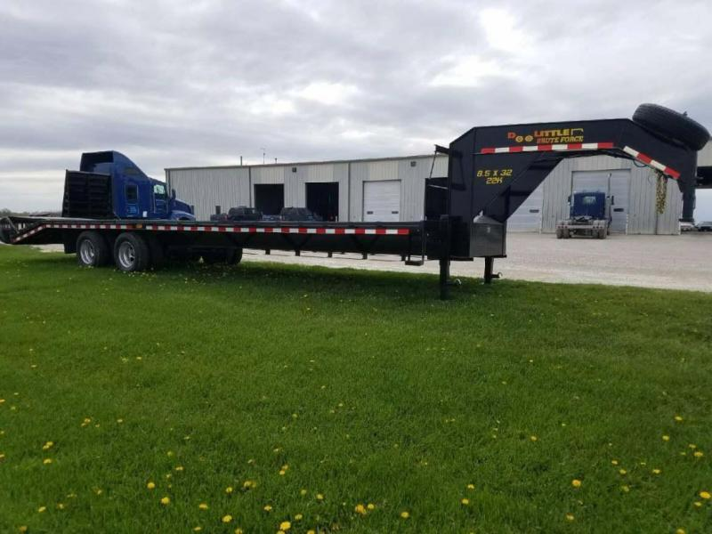 2017 Doolittle Trailer Mfg BruteForce 8.5x32 Equipment Trailer