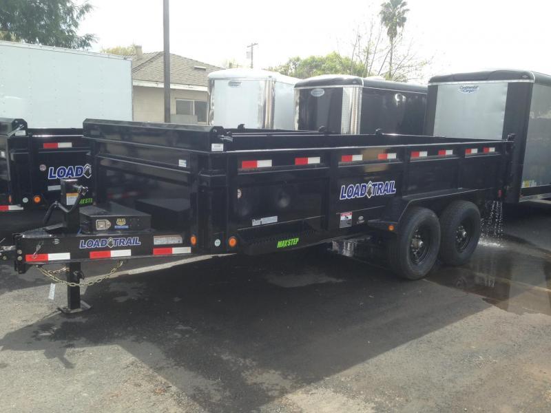"""2020 Load Trail 83"""" X 16' Tandem Axle Dump Trailer"""