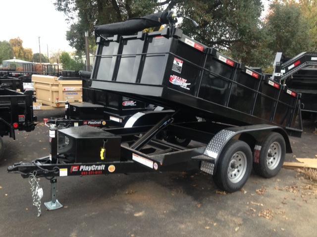 2018 Playcraft DUMP-5X10T Dump Trailer