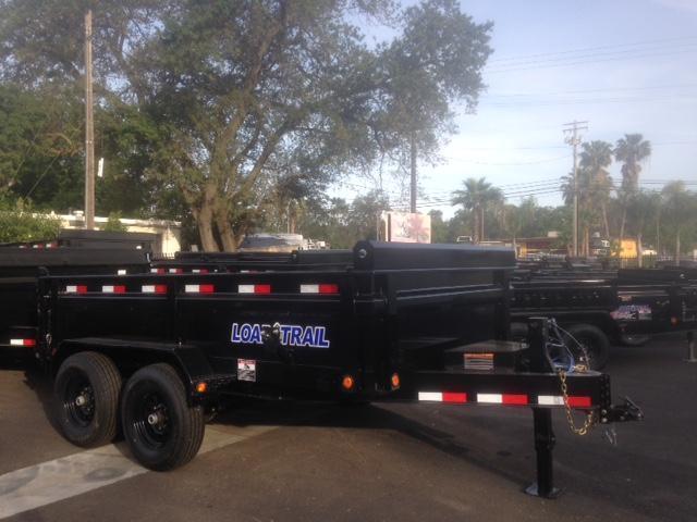 "2020 Load Trail 83"" X 12' Tandem Axle Dump Dump Trailer"
