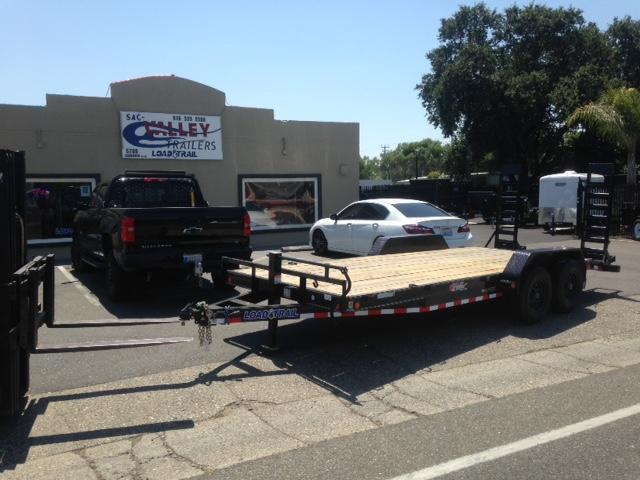 "2018 Load Trail 83"" X 20' Tandem Axle Carhauler Car / Racing Trailer"