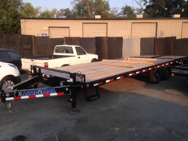 "2018 Load Trail 102"" X 24' Tandem Standard Pintle Hook Equipment Trailer"