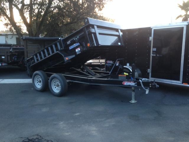 "2018 Load Trail 60"" X 10' Tandem Axle Dump Dump Trailer"