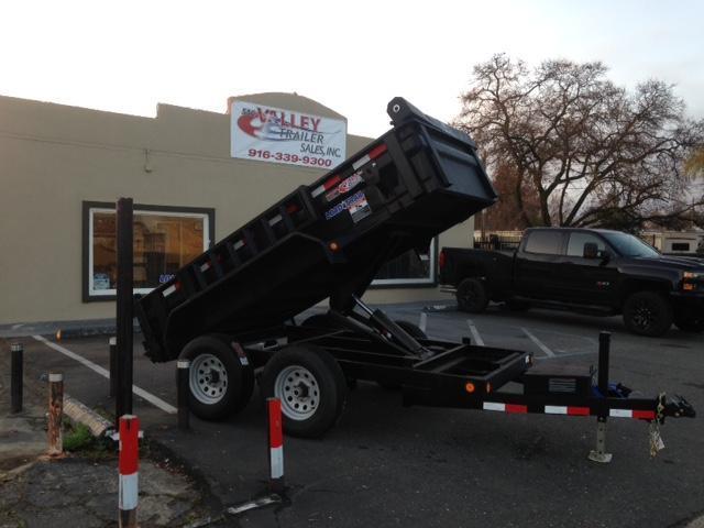 "2018 Load Trail 60"" X 10' Tandem Axle Dump Dump Trailer"