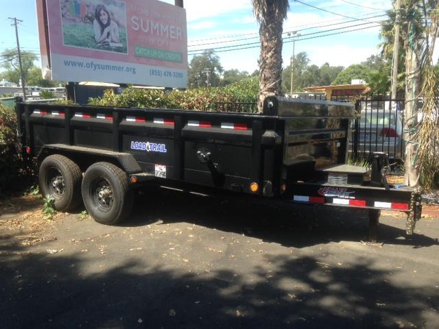 "2020 Load Trail 72"" X 12' Tandem Axle Dump Dump Trailer"