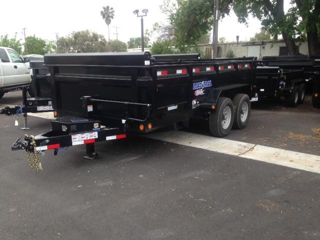 "2018 Load Trail 83"" X 14' Tandem Axle Dump Dump Trailer"