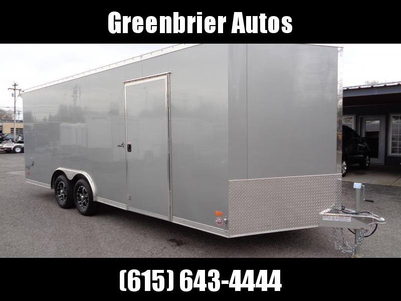 2019 Bravo Trailers 8.5' x 20' Aluminum Enclosed Car Trailer