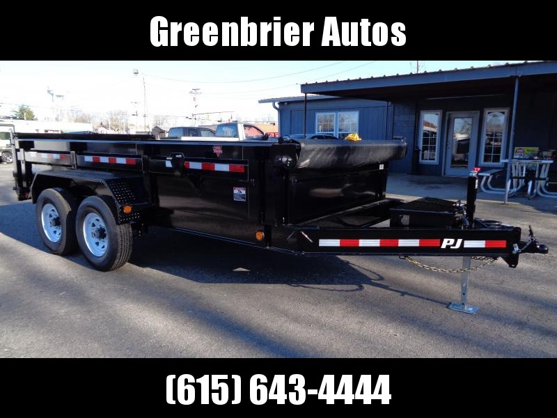 "2019 PJ Trailers 14' x 83"" Low Pro Dump (DL)"