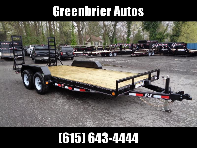 "2019 PJ Trailers 18' x 5"" Channel Equipment (CE)"