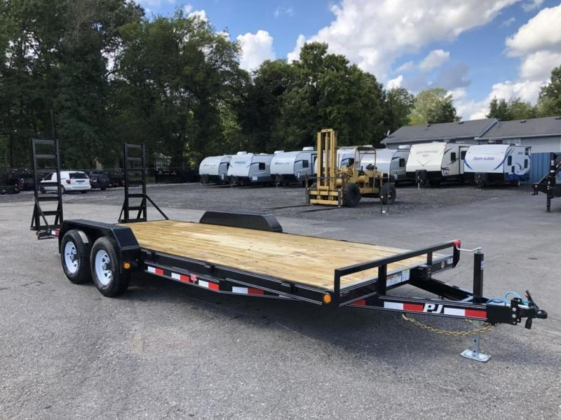 "2019 PJ Trailers 20' x 5"" Channel Equipment Trailer (CE)"