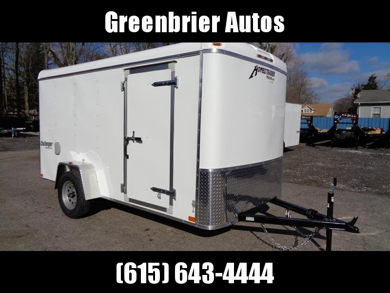 "2020 Homesteader Challenger 6' x 12' x 6'2"" Enclosed Cargo Trailer"