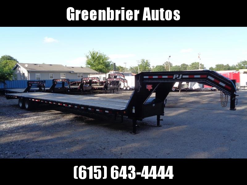 2019 PJ Trailers 40' Low-Pro Flatdeck with Duals (LD)