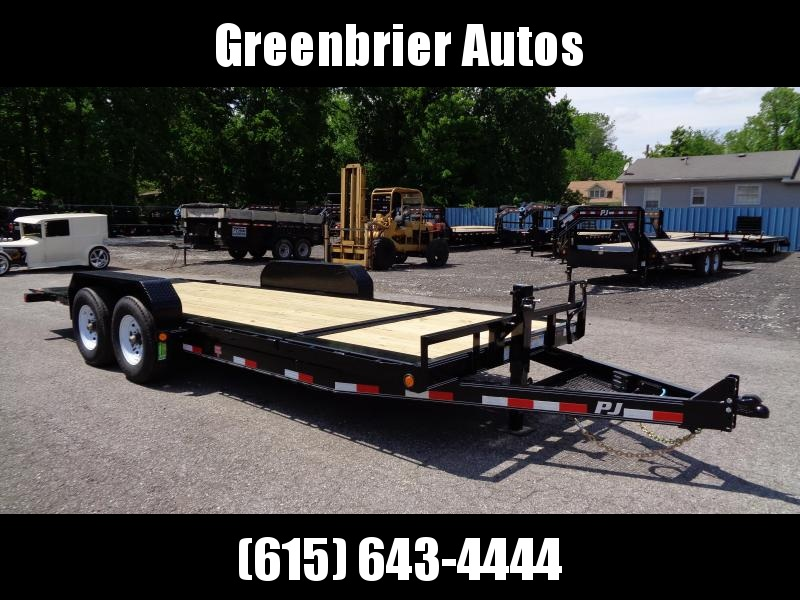 "2019 PJ Trailers 20' HD Equipment Tilt 6"" Channel (TJ)"