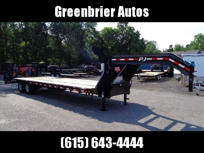 2020 PJ Trailers 30' Low-Pro Flatdeck with Duals (LD) **SCRATCH & DENT**
