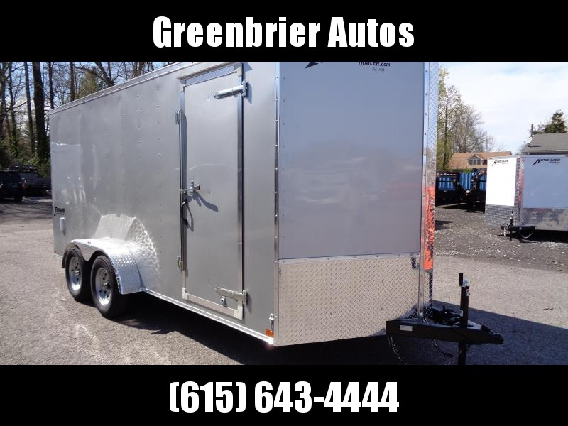 "2020 Homesteader Intrepid 7' x 16' x 6'6"" Enclosed Cargo Trailer"