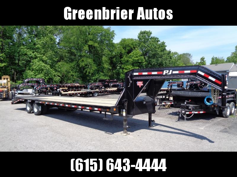 2020 PJ Trailers 32' Low-Pro Flatdeck with Duals (LD)