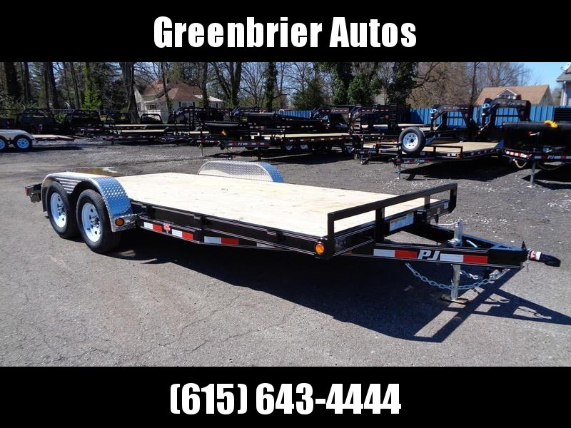 "2019 PJ Trailers 18' x 5"" Channel Carhauler (C5)"