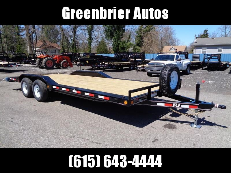 "2019 PJ Trailers 22' x 5"" Channel Buggy Hauler (B5)"