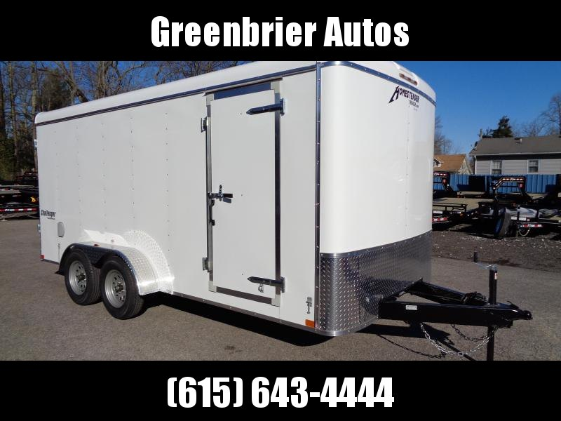 2019 Homesteader Challenger 7 x 16 Enclosed Cargo Trailer
