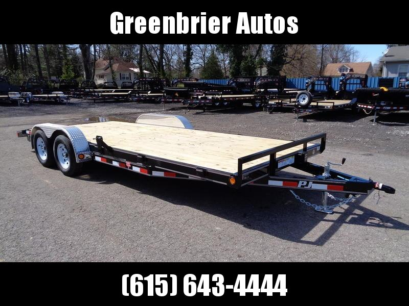 "2019 PJ Trailers 20' x 5"" Channel Carhauler (C5)"