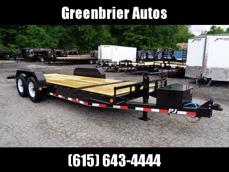 2020 PJ Trailers 20' 6 in. Channel Equipment Tilt (T6)