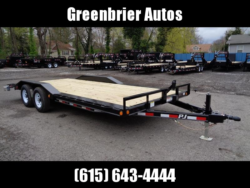 "2019 PJ Trailers 20' x 5"" Channel Buggy Hauler (B5)"