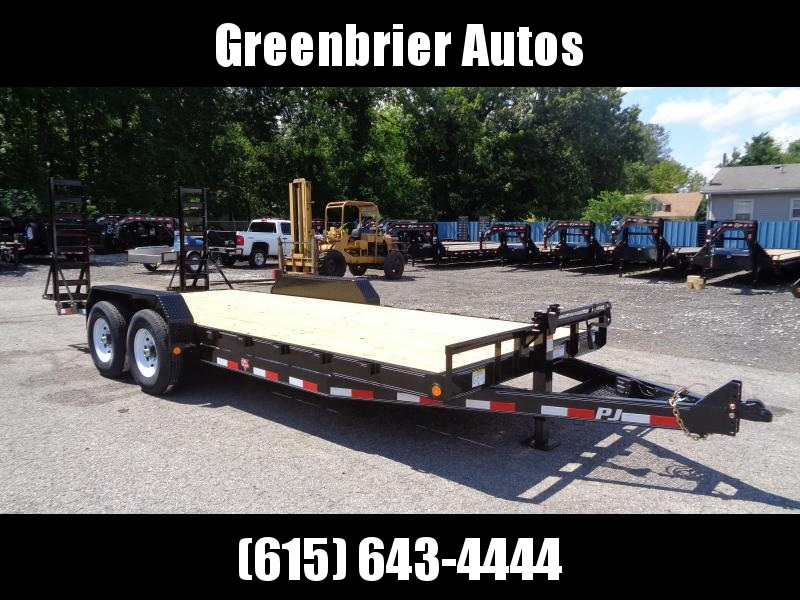 "2020 PJ Trailers 22' x 6"" Channel Equipment Trailer (CC)"