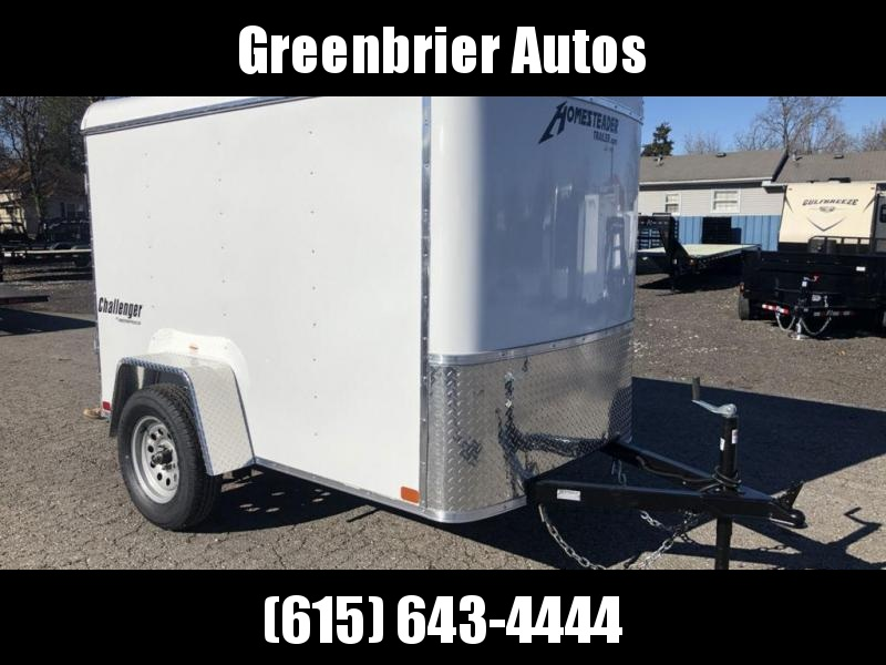 "2019 Homesteader 5' x 8' x 5'8"" Enclosed Cargo Trailer"