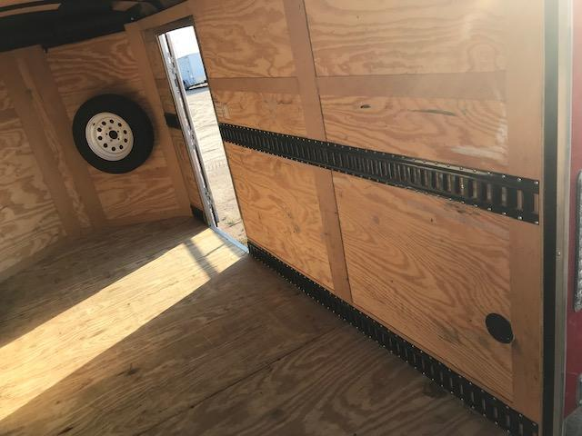 2015 Sure-Trac 6 x 12 Round Top V-Nose Enclosed Cargo Trailer 3.5K Barn
