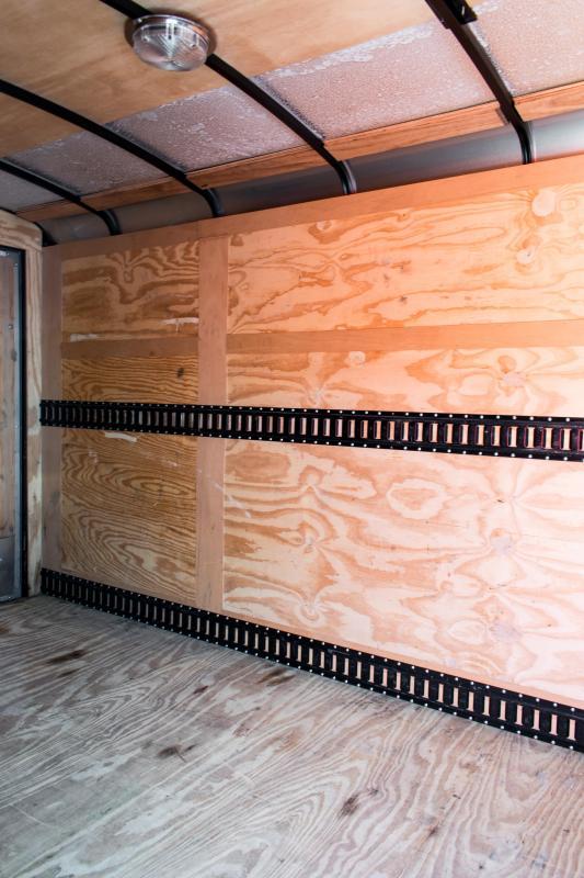 2015 Sure-Trac 6 x 12 Round Top V-Nose Enclosed Cargo Trailer 3.5K Barn