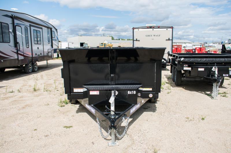 2020 Sure-Trac 6 x 10 LProfile 7K Single Ram Dump