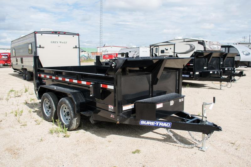 2020 Sure-Trac 6 x 10 LProfile 7K Single Ram Dump