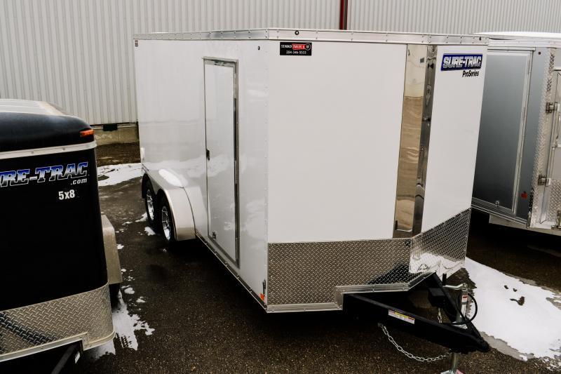 2018 Sure-Trac 7 x 16 Pro Series Wedge Cargo Ramp TA 7K