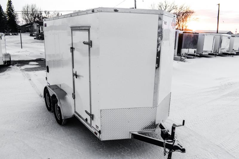 "2018 Cargo Mate 6X12 T/A Enclosed +6"" Height  7K"