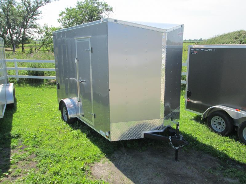 "2018 Cargo Mate 7X12 Enclosed Ramp 86"" Height"