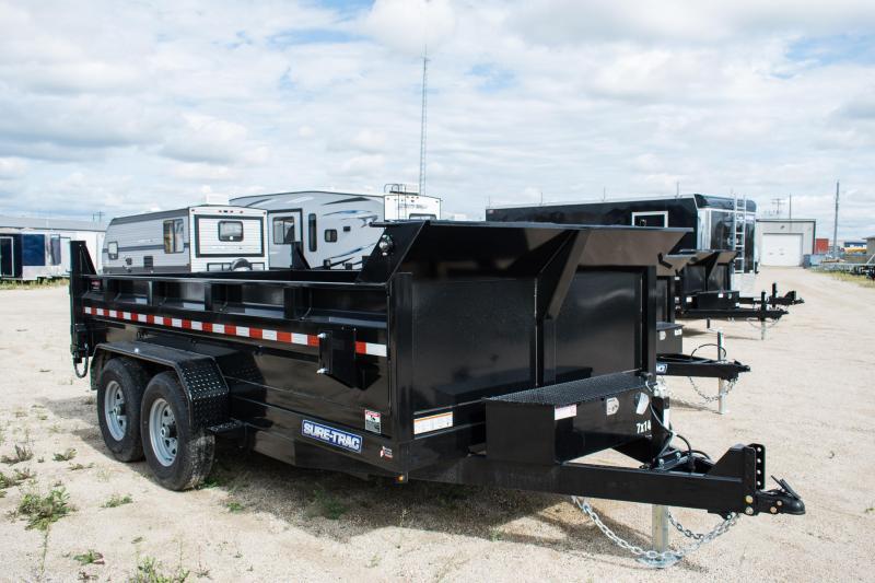 2020 Sure-Trac 7 X 14 LP 14K Dual Ram Dump