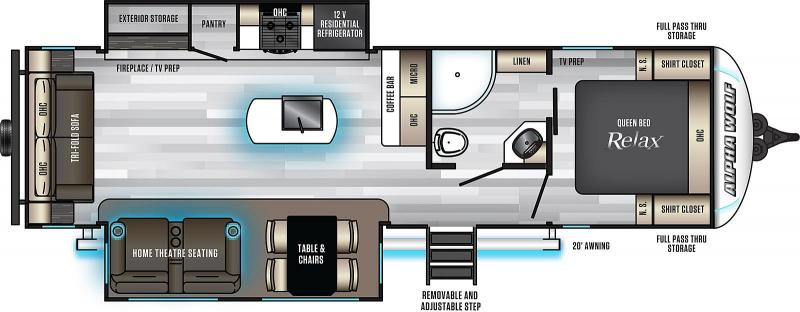 2020 Alpha Wolf Limited 26RL-L Ultimate Couples Model Travel Trailer RV
