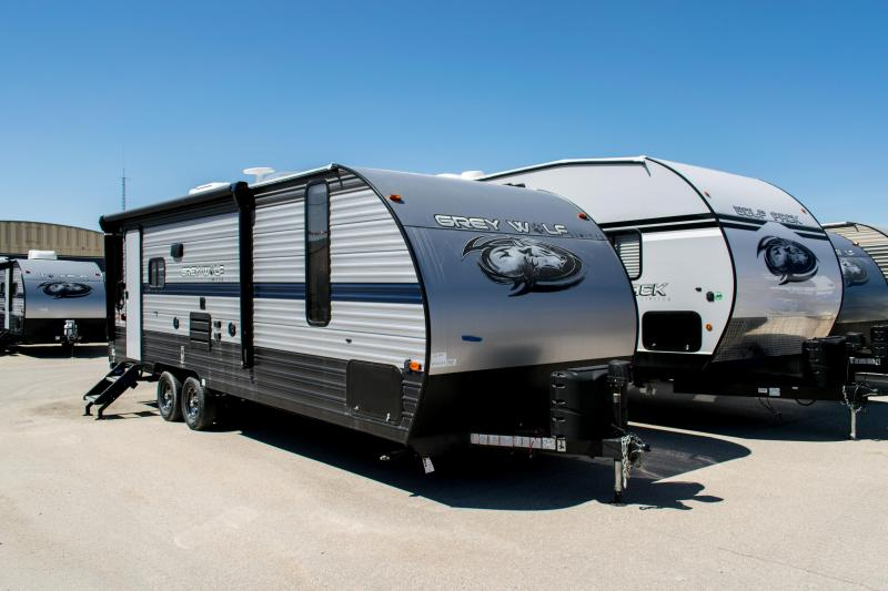 2019 Grey Wolf Limited 23MK Travel Trailer