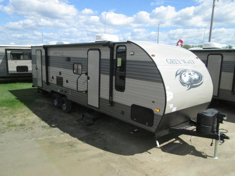 2018 Grey Wolf 26DBH Travel Trailer