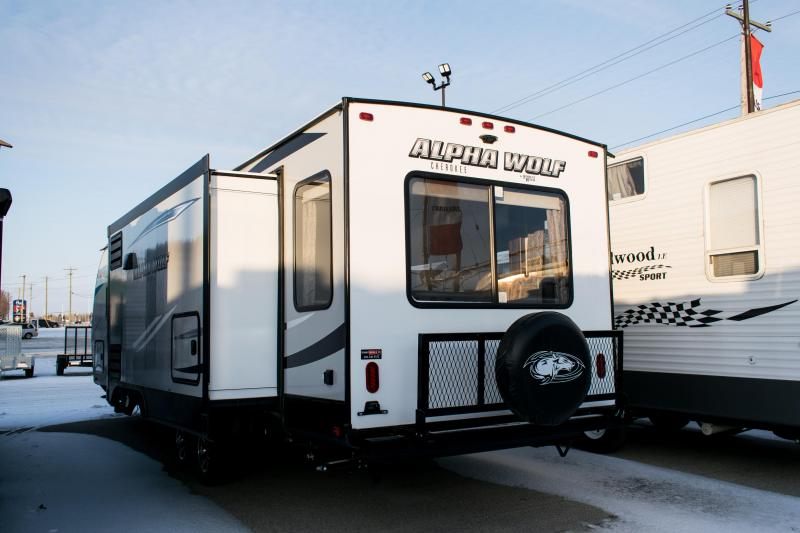 2019 Alpha Wolf Limited 26RL Ultimate Couples Model Travel Trailer RV