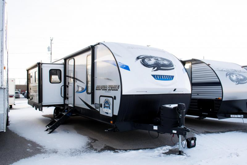 2019 Alpha Wolf Limited 26RL-L Ultimate Couples Model Travel Trailer RV