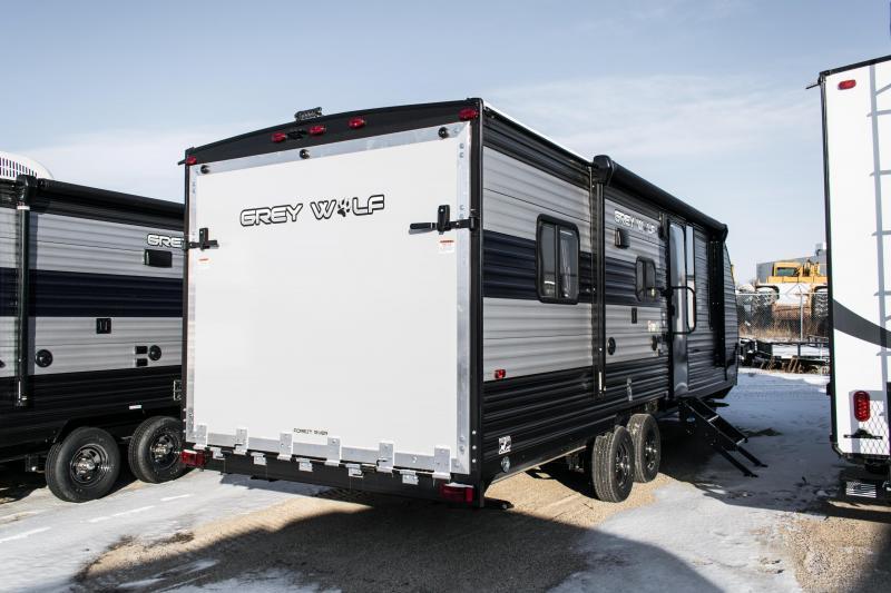 2021 Grey Wolf Limited 22RR Toy Hauler Camper Trailer